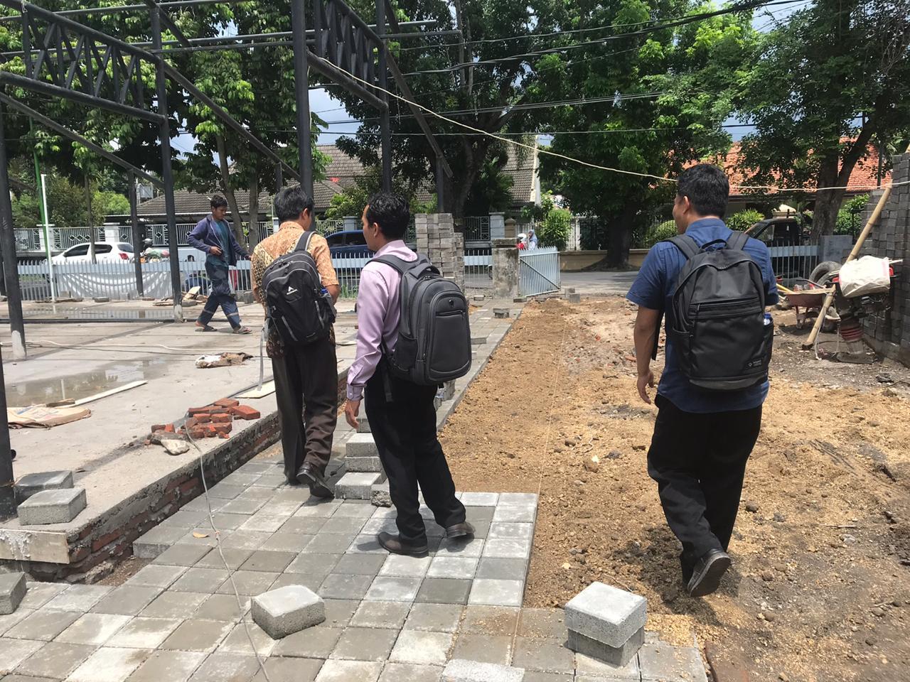 SPI Tinjau Renovasi dan Pembangunan Gedung UNRAM