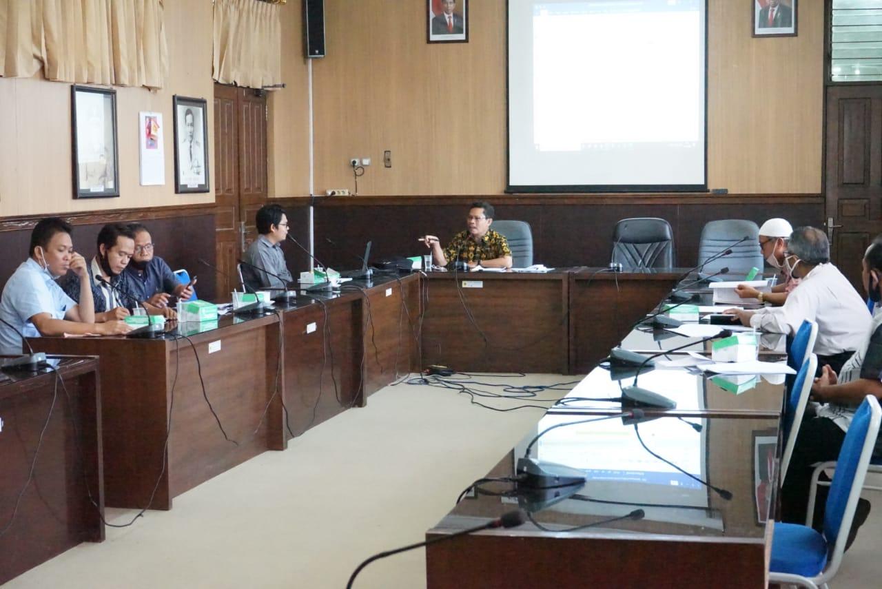 SPI membahas Peraturan Rektor tentang Kode Etik Dosen